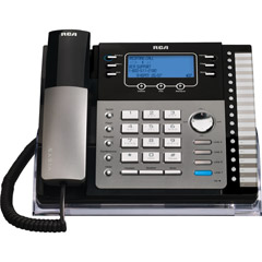 RCA 25424RE1 SOHO Series 4-Line Expandable Corded Business Telephone with Speakerphone and Call Waiting Caller ID