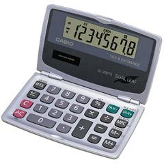 Casio SL-200TE Folding Tax and Currency Exchange Calcuator