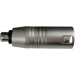 Hosa GXM-133 RCA Female to XLR Male Adapter