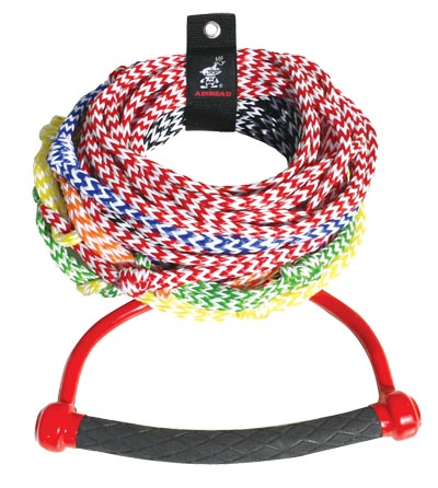 Airhead AHSR-8 Water Ski Rope 8-section Radius Handle