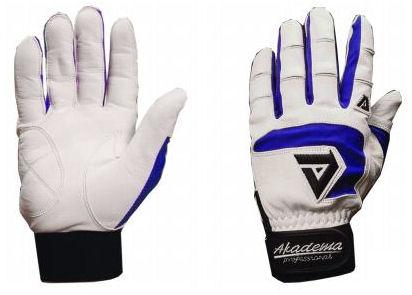Akadema Baseball Gloves - Akadema BTG490-M BTG490-M Baseball Batting Gloves Pair Medium
