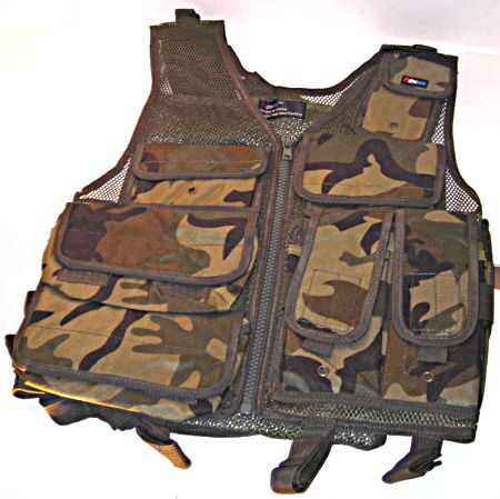 Tactical Vests - Airsoft ST27C Fire Dragon Tactical Vest Woodland