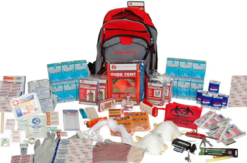 Guardian SKD2 Deluxe Emergency Survival Kit 2-Person