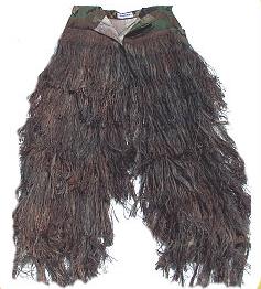 Bdu Pants - GhillieSuits.com G-BDU-P-Mossy-Small Ghillie Suit Pants Mossy Small