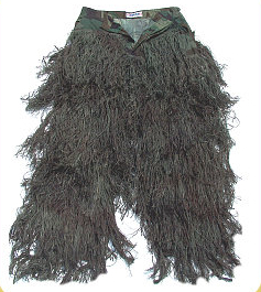 Ghillie Suit - GhillieSuits.com G-BDU-P-Woodland-Large Ghillie Suit Pants Woodland Large