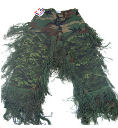 Bdu Pants - GhillieSuits.com S-BDU-P-Leafy-Small Sniper Ghillie Pants Leafy Small