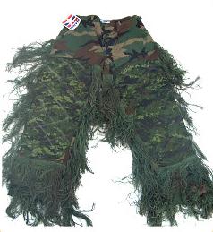 Bdu Pants - GhillieSuits.com S-BDU-P-Leafy-Large Sniper Ghillie Pants Leafy Large