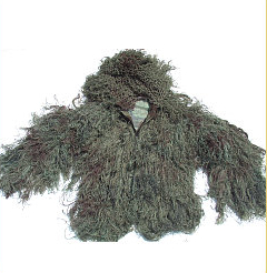 Ghillie Suits - GhillieSuits.com G-BDU-J-Leafy-XL Ghillie Suit Jacket Leafy XL
