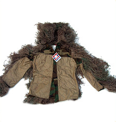 Ghillie Suits - GhillieSuits.com S-BDU-J-Mossy-Small Sniper Ghillie Suit Jacket Mossy Small