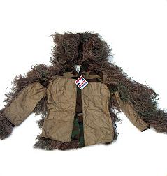 Ghillie Suit - GhillieSuits.com S-BDU-J-Mossy-Medium Sniper Ghillie Suit Jacket Mossy Medium