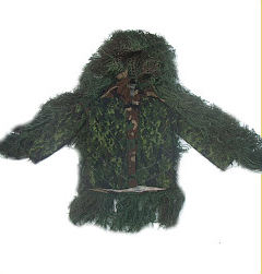 Ghillie Suit - GhillieSuits.com S-BDU-J-Leafy-XL Sniper Ghillie Suit Jacket Leafy XL