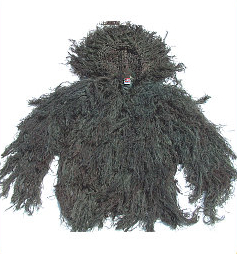 Ghillie Suit - GhillieSuits.com G-BDU-J-Woodland-XXXL Ghillie Suit Jacket Woodland XXXL