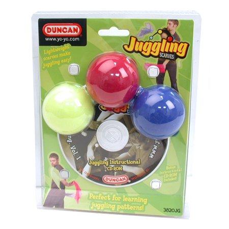 Juggling Scarves - Duncan Toys 3820JG-IN Juggling Scarves