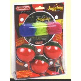Juggling Scarves - Duncan Toys 3840JG-IN Juggling Combo Pk.-