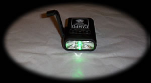 Import Merchandisers 310 Campo Flashlight and Cell Phone Charger
