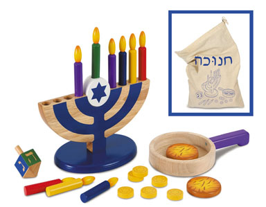 Kid Kraft 62905 Play Kitchen Chanukah Set