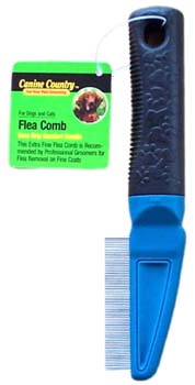 Image of American Leather AL19761 Flea Comb for Flea Removal on Fine Coats