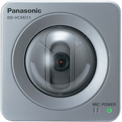 Panasonic Electronics - Panasonic BB-HCM511A PoE Network Camera - Color - CCD - Cable