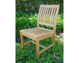 Anderson CHD-086 Teakwood Rialto Patio Dining Chair