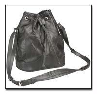 Leather Purse - Embassy Italian Stone Design Genuine Leather Shoulder Bag LUPURSE4