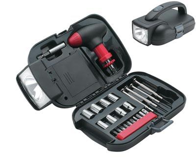 Maxam 25pc Tool Set includes: ratcheting Thandle magnetic bit holder 10 bits (including he MT25