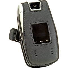 Leather Belts - Samsung WT17200000132 Samsung Fitted Leather Case With Belt Clip For U540
