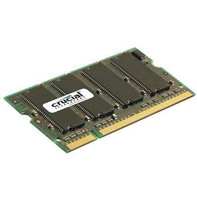 Crucial Technology 1GB 400MHZ DDR SODIMM CT12864X40B DHCT12864X40B