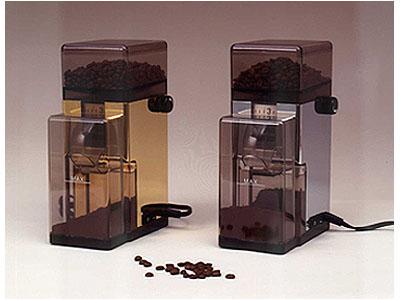 European Gift PGC Tre Spade Conical Burr Coffee Grinder Chrome