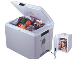 Koolatron P75 Kool Kaddy Portable Cooler 36 quarts 57 cans