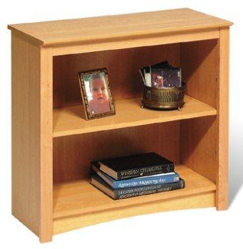 Prepac MDL-3229 Maple 2-shelf Bookcase