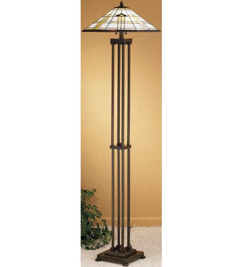 Meyda Tiffany 31240 63 Inch H Arrowhead Mission Floor Lamp