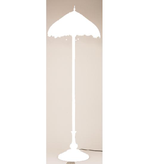 Meyda Tiffany 47996 64 Inch H Wicker Sunflower Floor Lamp