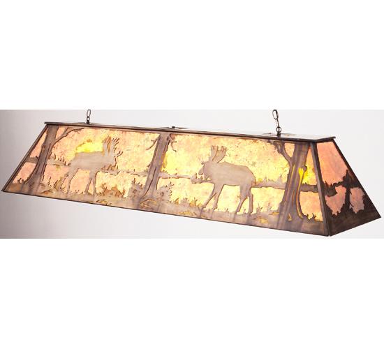 Meyda Tiffany 50120 72 Inch L Moose Oblong Pendant