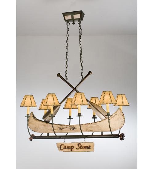 Meyda Tiffany 26965 41 Inch L 8lt Canoe Chandelier