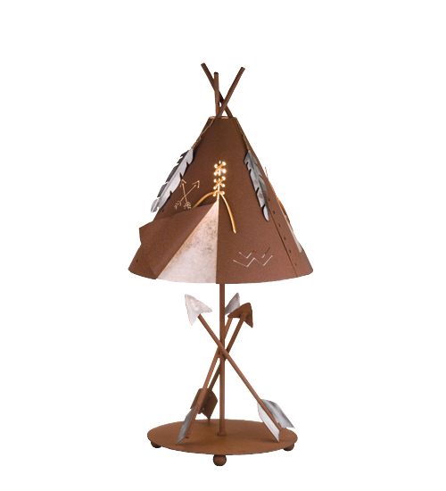 Meyda Tiffany 82336 Trail S End Table Lamp