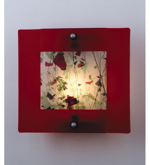 Meyda Tiffany 82470 12 Inch W Autumn Of My Youth Fused Glass Sconce