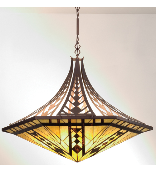 Meyda Tiffany 98959 40.5 Inch W Sonoma Inverted Pendant