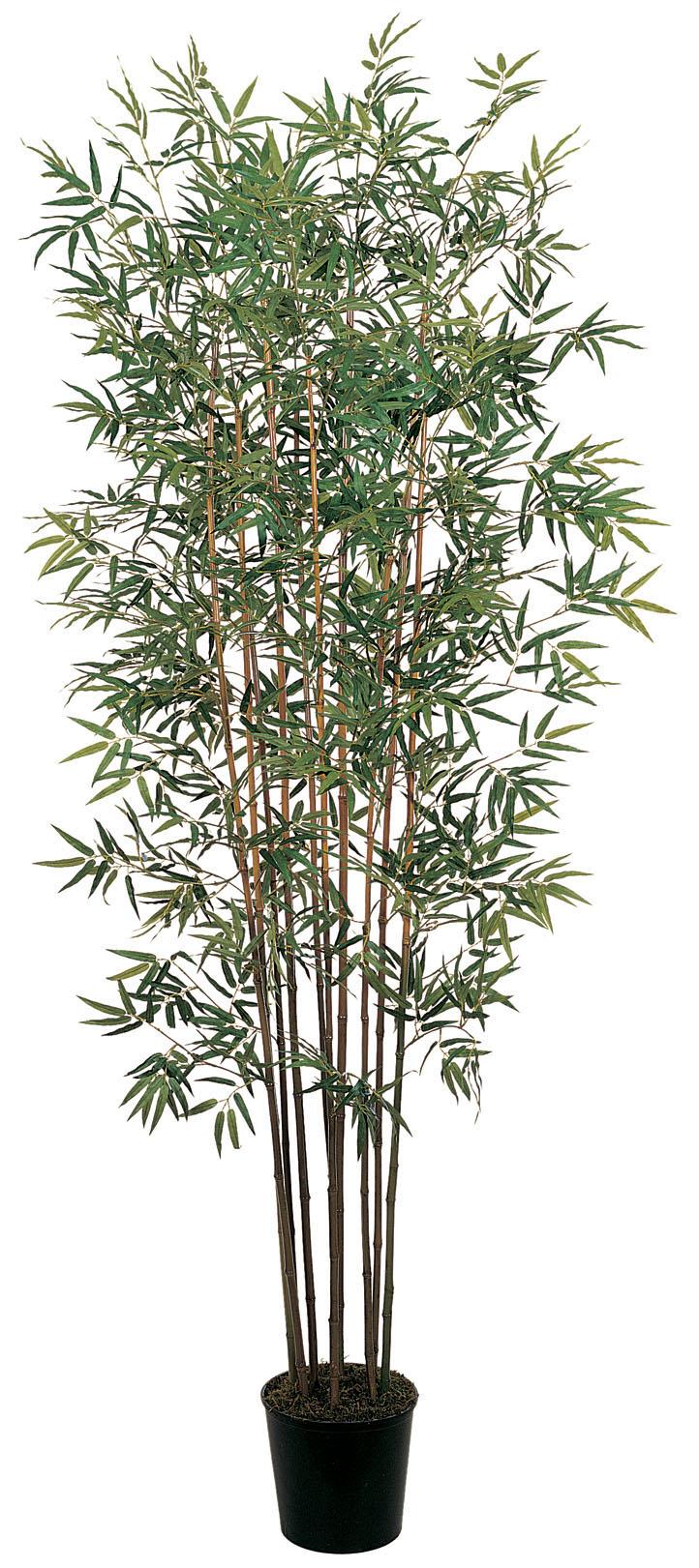 Nearly Natural 5022 Mini Bamboo Silk Tree 6 Feet