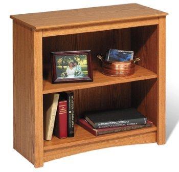 Prepac ODL-3229 Oak 2-shelf Bookcase