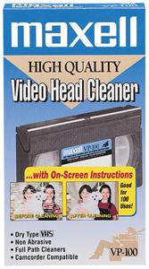 MAXELL 290058 Dry Video Head Cleaner 290058