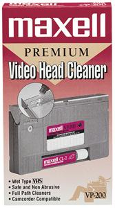 MAXELL 290038 Video Head Cleaner 290038