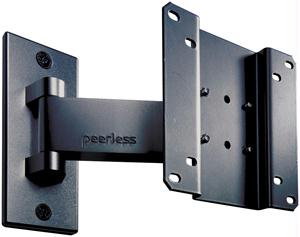 PEERLESS SP730P Long Pivot Wall Mount For 10 Inch to 22 Inch LCD Screens Black SP730P