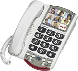 AMERIPHONE P300 PHOTO PHONE WITH ADJUSTABLE AMPLIFIER P300