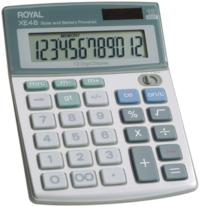 ROYAL 29306S Compact Desktop Calculator