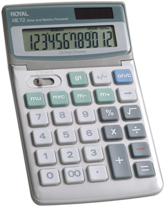 ROYAL 29307U 12-Digit Desktop Calculator
