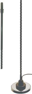 TRAM 3-M-B-HC Fiberglass 5 Inch Magnet-Mount CB Antenna Kit
