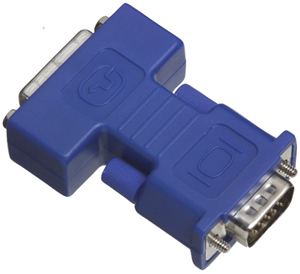 TRIPPLITE P126-000 DVI Cables & Adapters Monitor Cables DVI to VGA Analog Adapter converts DVI-I to VGA Plug