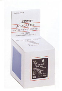Zelco 10425 110V Adapter for Travel and Jr. itty bitty booklights at Sears.com