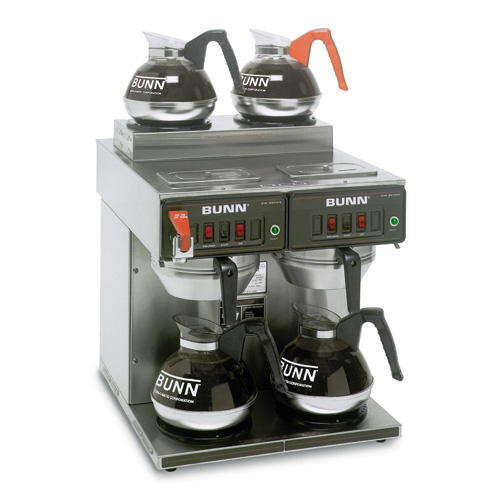 Bunn 23400.0001 12 Cup Coffee Brewers Thermo Fresh 2/2 TWIN 120/240V Stainless Steel Funnel at Sears.com
