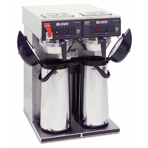 Bunn 23400.0041 Airpot Coffee Brewer Thermo Fresh TWIN-APS 120/240V Stainless Steel Funnel at Sears.com